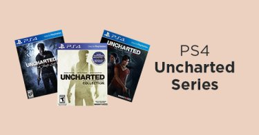 PS4 Uncharted Series