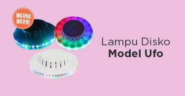 Lampu Disko Model Ufo