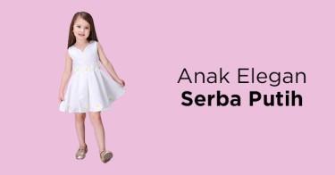 Outfit Anak Serba Putih