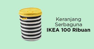 Keranjang IKEA Flyttbar