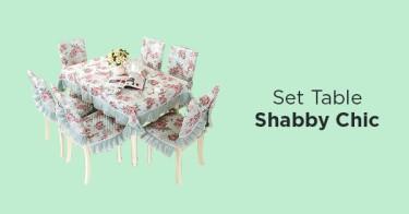 Table Set Shabby Chic