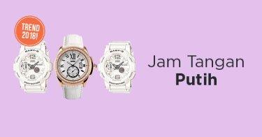 Jam Tangan Putih Sumatera Selatan