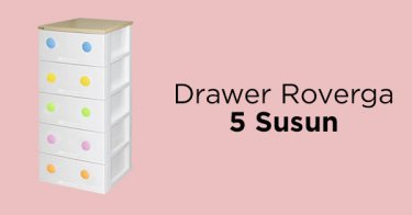 Drawer Rovega 5 Susun