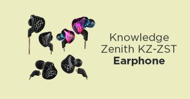 Knowledge Zenith KZ-ZST Earphone Bandung
