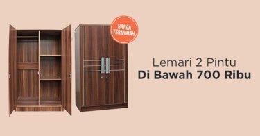 Lemari 2 Pintu Kabupaten Bekasi