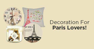 Dekorasi Serba Paris
