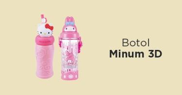 Botol Minum 3D