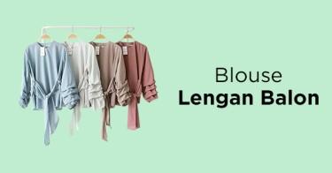 Blouse Lengan Balon