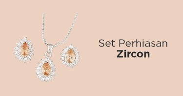 Set Perhiasan Zircon