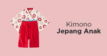 Kimono Jepang Anak