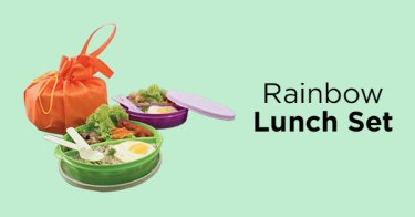Rainbow Lunch Set