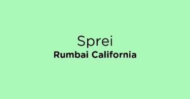 Sprei Rumbai California Sumatera Selatan