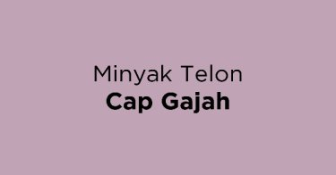 Minyak Telon Cap Gajah