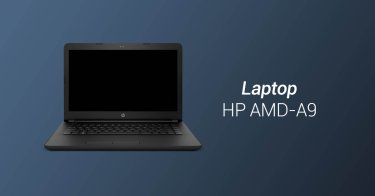 Laptop HP AMD-A9 Aceh