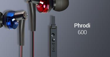 Earphone Phrodi 600