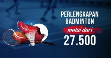 Perlengkapan Badminton