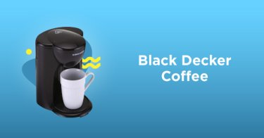 Black Decker Coffee Maker