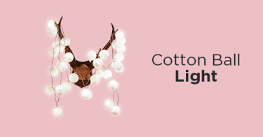 Cotton Ball Light