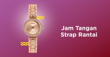 Jam Tangan Strap Rantai