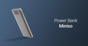 Power Bank Miniso