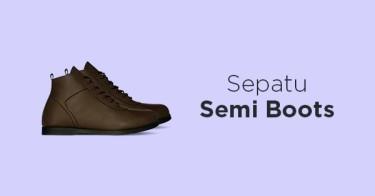 Jual Sepatu Semi Boots - Beli Harga Terbaik  4176ea241d