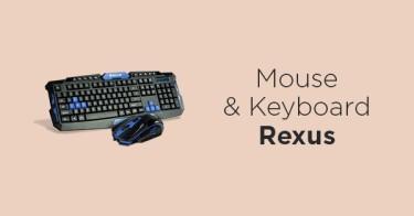 Mouse & Keyboard Rexus Bandung