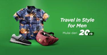 Pakaian Travelling Pria