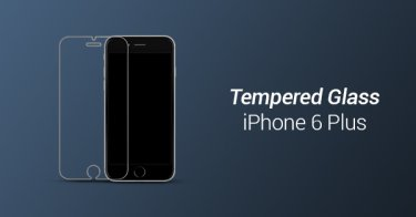 Tempered Glass iPhone 6 Plus Bandung
