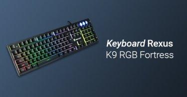 Jual Keyboard Rexus K9 RGB Fortress dengan Harga Terbaik dan Terlengkap