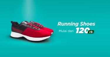 Sepatu Running Riau
