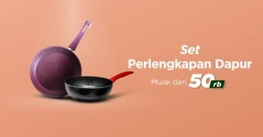 Set Perlengkapan Dapur Jakarta Barat