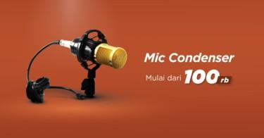 Mic Condenser Palembang