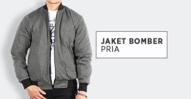 Jual Jaket Bomber Pria Style Terbaru 2019 - Original   Harga Terbaik ... 95b40e5d59