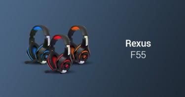 Headset Gaming Rexus F55