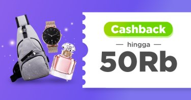 Cashback up to 50 Ribu