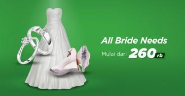 Jual Bride Must Have dengan Harga Terbaik dan Terlengkap