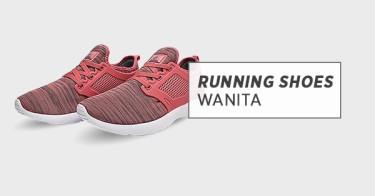 Running Shoes Wanita