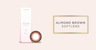 Almond Brown Softlens