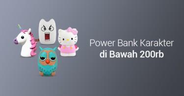 Jual Power Bank Karakter di Bawah 200rb dengan Harga Terbaik dan Terlengkap