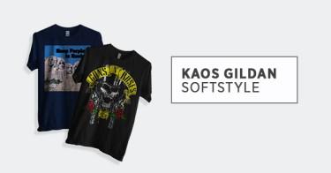 Kaos Gildan Softstyle Depok