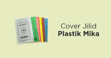 Cover Jilid Plastik Mika