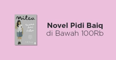 Novel Pidi Baiq di Bawah 100rb