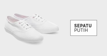 30c52a6c433 Jual White Shoes