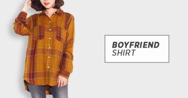 Boyfriend Shirt Depok