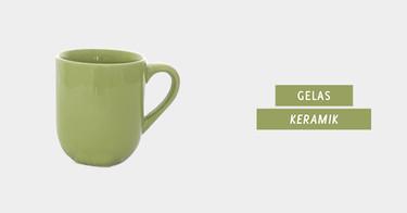 Jual Gelas Keramik dengan Harga Terbaik dan Terlengkap