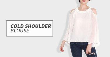 Jual Cold Shoulder Blouse  f4d46e1dbe