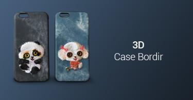 3D Case Bordir di Bawah 100rb