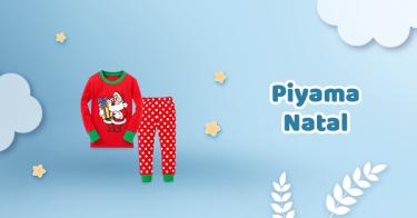 Piyama Natal Anak