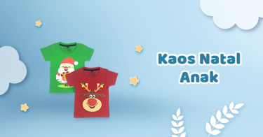 Kaos Natal Anak Bandung