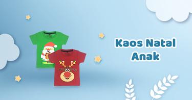 Kaos Natal Anak Jawa Timur